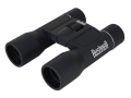 Bushnell Powerview Binocular 16x 32mm Compact Center Focus Roof Prism Rubber Armored Black