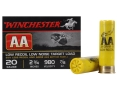 "Winchester AA Featherlite Target Ammunition 20 Gauge 2-3/4"" 7/8 oz #8 Shot"