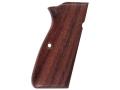 Hogue Fancy Hardwood Grips Browning Hi-Power