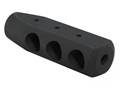 AR-Stoner Competition Muzzle Brake AR-15 1/2&quot;-28 Thread Steel Matte