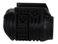 "Mako Picatinny Rail Flashlight Mount 1-1/8"" Ring Diameter Polymer Black"