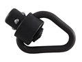 GG&amp;G Enhanced Angular Heavy Duty Push Button Quick Detach Sling Swivel 1&quot; Steel Matte
