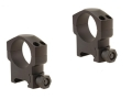 Leupold 30mm Mark 4 Picatinny-Style Rings Matte High Aluminum