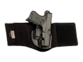 Galco Ankle Glove Holster Right Hand Sig Sauer P230, P232 Leather with Neoprene Leg Band Black