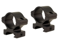 "Leupold 1"" Detachable Rifleman Rings Weaver-Style Medium Matte"