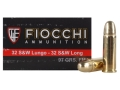 Product detail of Fiocchi Shooting Dynamics Ammunition 32 S&W Long 97 Grain Full Metal Jacket Box of 50