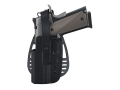 Uncle Mike's Paddle Holster with Thumb Break Beretta 92, 96 (Except Brigadier, Elite) Kydex Black