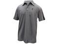Browning Men's Highline Shooting Shirt Polo Short Sleeve Polyester