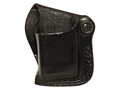 DeSantis S.S. Single Magazine Pouch Left Glock 43 Leather