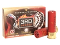 "Federal Premium 3rd Degree Turkey Ammunition 12 Gauge 3-1/2"" 2 oz #5, #6, and #7 Multi Shot Flitecontrol Wad Box of 5"