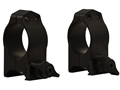Product detail of Tactical Solutions 1&quot; Tru-Tac Quick-Release Weaver-Style Rings Matte Medium