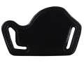 Product detail of Bianchi 101 Foldaway #10 Outside the Waistband Holster Right Hand 1911 and Medium Frame Semi-automatics Leather Black