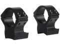 Talley Lightweight 2-Piece Scope Mounts with Integral 1&quot; Rings Browning X-Bolt Matte Medium