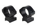 Talley Lightweight 2-Piece Scope Mounts with Integral 1&quot; Rings Anschutz Matte Low
