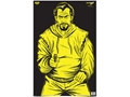 "Birchwood Casey Eze-Scorer BC Bad Guy Black/Yellow Target 23"" x 35"" Package of 5"