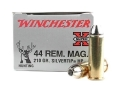 Winchester Super-X Ammunition 44 Remington Magnum 210 Grain Silvertip Hollow Point Case of 200 (10 Boxes of 20)