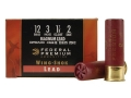 Federal Premium Wing-Shok Ammunition 12 Gauge 3&quot; 1-7/8 oz Buffered #2 Copper Plated Shot Box of 25