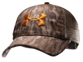 Under Armour Mesh Back Antler Cap Polyester Mossy Oak Bottomland Camo