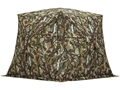 "Barronett Bell Bottom Ground Blind 75"" x 75"" x 80"" Polyester Bloodtrail Camo"