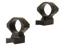 Talley Lightweight 2-Piece Scope Mounts with Integral 1&quot; Rings Weatherby Lightweight Matte Medium