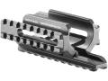 Mako Tri-Rail Handguard Micro UZI Aluminum Black