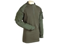 Voodoo Tactical Men's 1/4 Zip Combat Shirt Long Sleeve Cotton/Polyester Blend