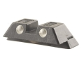 "Glock Rear Sight 6.5mm .256"" Height Steel Black Tritium"