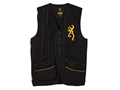 Browning Men's Team Browning Shooting Vest Right Handed Cotton