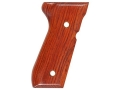 Product detail of Hogue Fancy Hardwood Grips Beretta 92F, 92FS, 92SB, 96, M9 Cocobolo