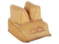 Protektor Rabbit Ear Rear Shooting Rest Bag Leather Tan Filled