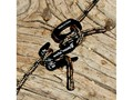 Nite Ize Figure 9 Rope Tightener Small Black with Cord Package of 2