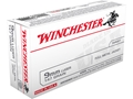 Winchester USA Ammunition 9mm Luger 147 Grain Full Metal Jacket Box of 50