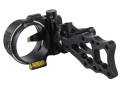 "T.R.U. Ball Axcel ArmourTech Vision HS 5-Pin Bow Sight .019"" Pin Diameter Aluminum Black"