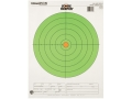 "Champion Score Keeper 100 Yard Rifle 8"" Bullseye Targets 14"" x 18"" Paper Fluorescent Green Bull Pack of 12"