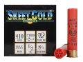 NobelSport Skeet Gold Ammunition 410 Bore 2-1/2&quot; 1/2 oz #8-1/2 Shot Box of 25
