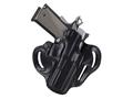 DeSantis Speed Scabbard Belt Holster FN Herstal FNS Longslide 9mm, 40S&W Leather