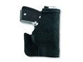 "Galco Pocket Protector Holster Ambidextrous Taurus 709 Slim, Smith and Wesson M&P Shield, Springfield XDS 3.3"" Leather Black"
