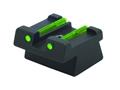 HIVIZ Rear Sight HK USP Full-Size, USP Compact Steel Fiber Optic