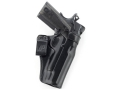 Galco N3 Inside the Waistband Holster 1911 Officer, Defender Leather Black
