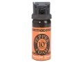 Mace Brand Pepper Foam Large Pepper Spray 67 Gram Aerosol 10% OC Foam Plus UV Dye Orange