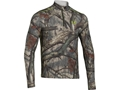 Under Armour Men's ColdGear Infrared Scent Control EVO 1/4 Zip Base Layer Shirt Polyester
