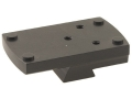 Product detail of JP Enterprises JPoint Electronic Sight Mount Fits 1911 Novak Cut Rear Sight Aluminum Matte