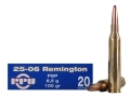 Prvi Partizan Ammunition 25-06 Remington 100 Grain Pointed Soft Point Box of 20