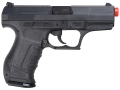 Walther P99 Airsoft Pistol 6mm Green Gas Semi-Automatic Blowback Black