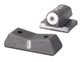 XS 24/7 Express Sight Set Kahr CW, Post 2004 Steel Matte Tritium Big Dot Front