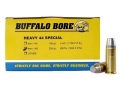 Product detail of Buffalo Bore Ammunition 44 Special 255 Grain Lead Keith-Type Semi-Wadcutter Gas Check