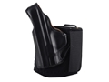 Product detail of DeSantis Die Hard Ankle Holster Left Hand Smith & Wesson M&P Shield Leather Black