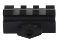 Product detail of Leapers UTG Low Profile 3-Slot Compact Picatinny-Style Riser Mount AR-15 Flat-Top Matte