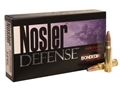 Nosler Defense Ammunition 6.8mm Remington SPC 90 Grain Bonded Solid Base Box of 20