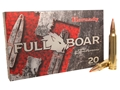 Hornady Full Boar Ammunition 300 Winchester Magnum 165 Grain GMX Boat Tail Lead-Free Box of 20
